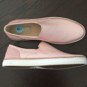 RARE Ugg Pure Slip On, Deck, Sneaker Shoes Striped